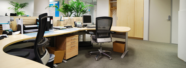 Vanguard Cleaning Systems® franchise owners deliver high-quality, customized office cleaning & commercial janitorial services to general office environments.
